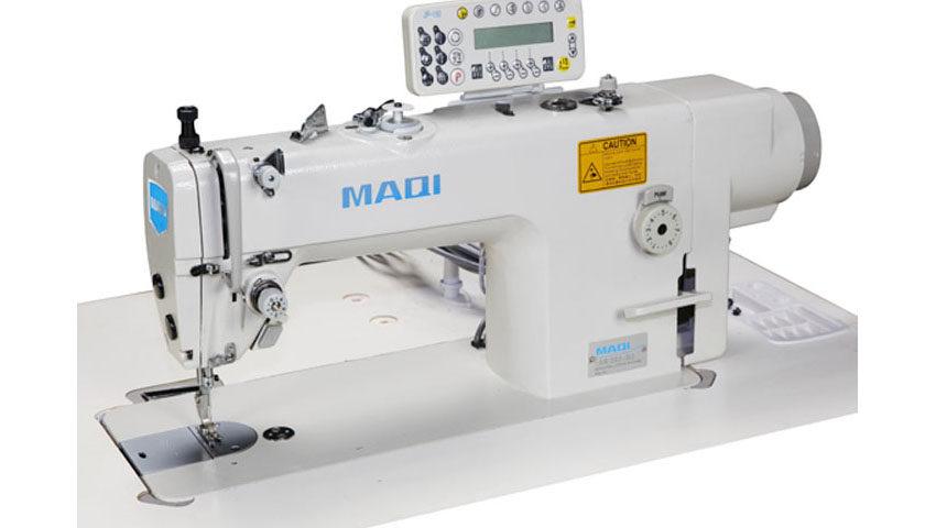 Masina de cusut MAQI LS 202-TD3 cu graifer marit pentru materiale medii si groase